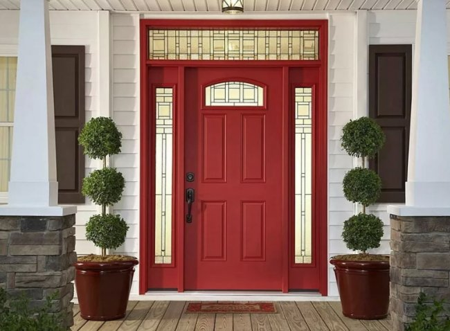 Как выбрать входные двери в коттедж
