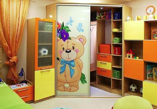 Детская мебель шкаф–купе