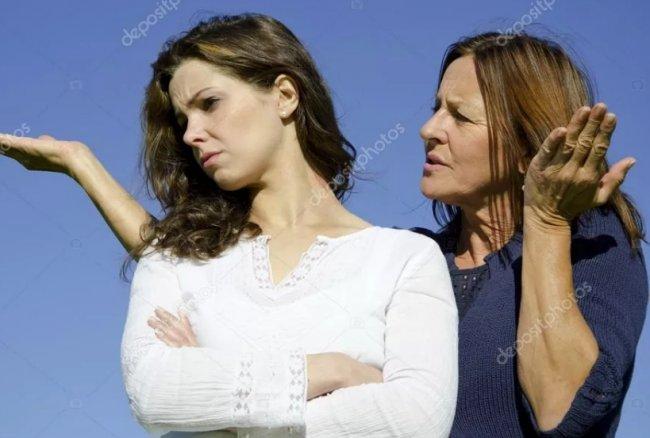 Как отвадить свекровь от мужа