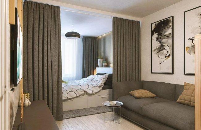 Правила расстановки мебели в спальной комнате