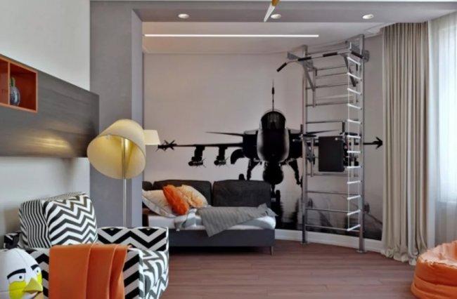 Степень свободы – дизайн комнаты для тинейджера