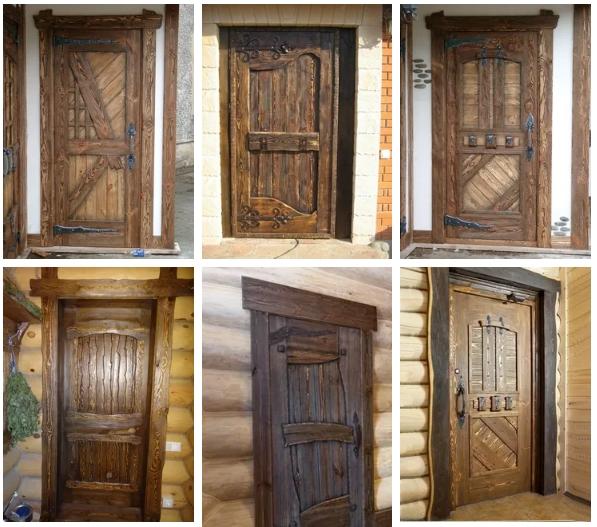 Как выбрать двери под старину