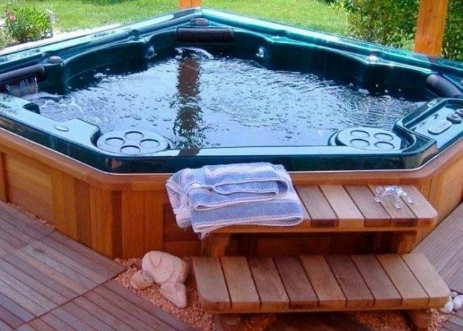 Как выбрать ступени гидромассажный бассейн