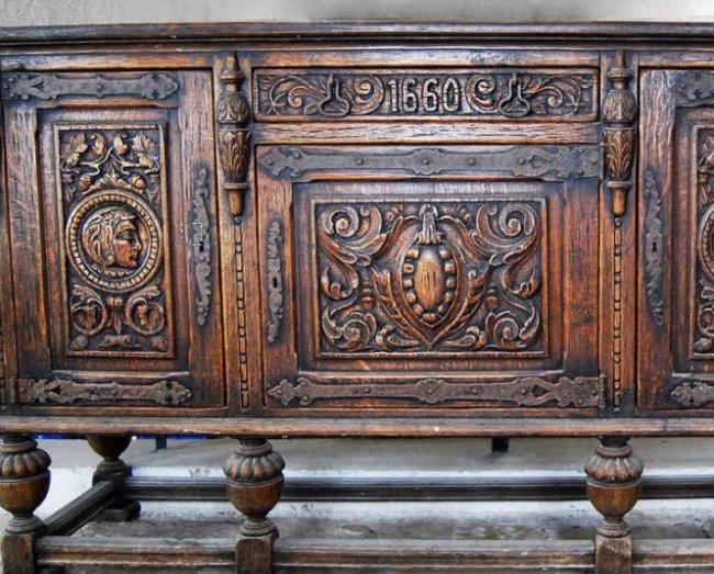 Реставрация антикарной мебели