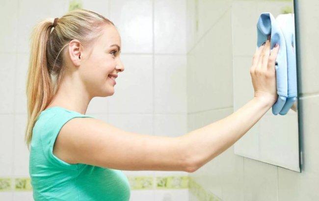 Зеркало, как тебя отмыть?