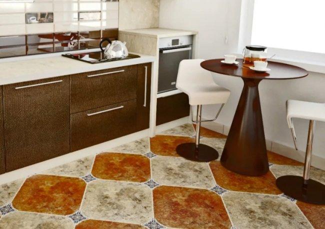 Полезные советы по выбору напольной плитки для кухни