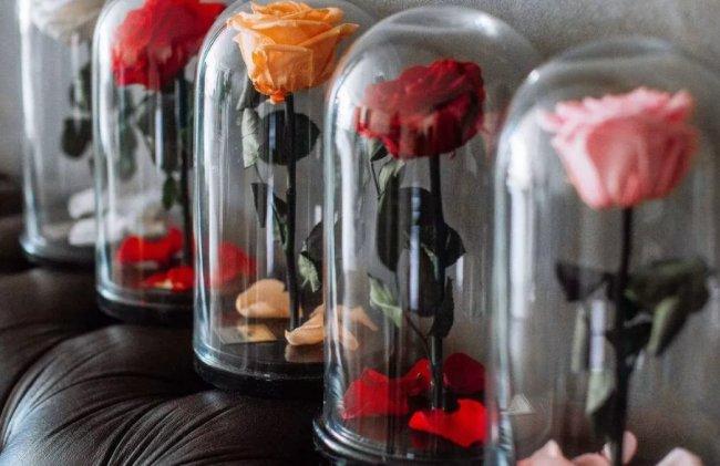 Что такое роза в колбе