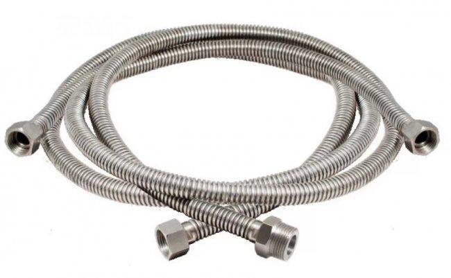 Как выбрать бытовые металлические шланги для воды и газа?