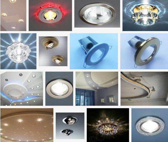 Какие светодиодные светильники подойдут для подвесных потолков?
