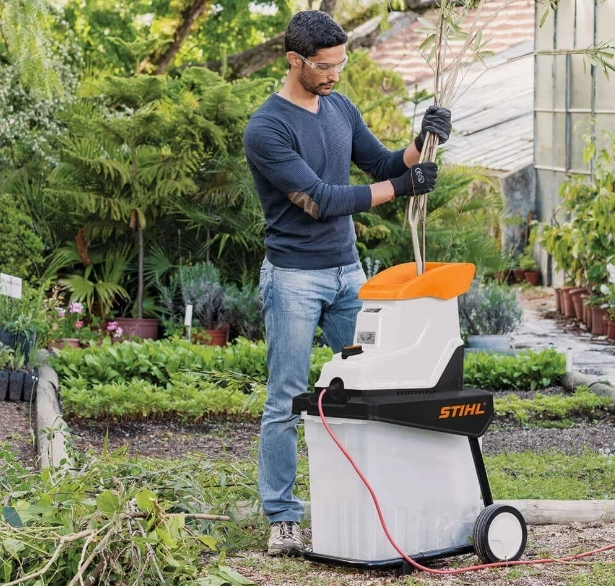 Измельчители садовые Stihl для травы и веток