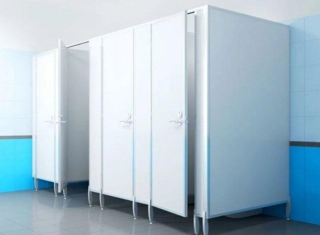 Туалетные перегородки из ЛДСП и их плюсы