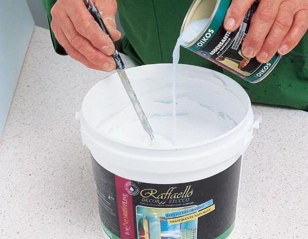 Технология использования водно-дисперсионных красок
