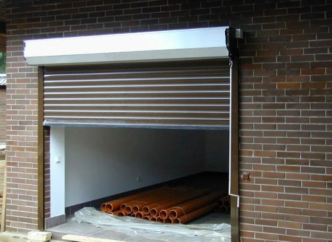 Роллетные ворота для гаража - конструкция, установка